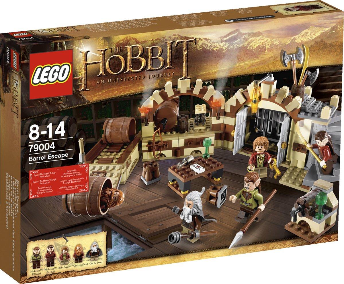 LEGO The Hobbit Ontsnapping in een ton - 79004