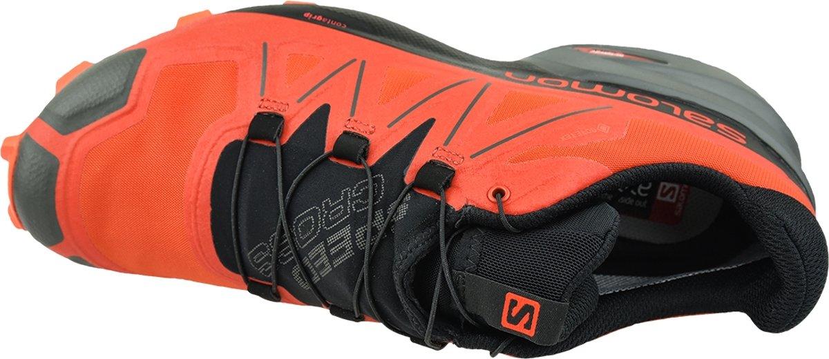 Salomon Speedcross 5 GTX 407965, Mannen, Oranje, Hardloopschoenen maat: 41 13 EU