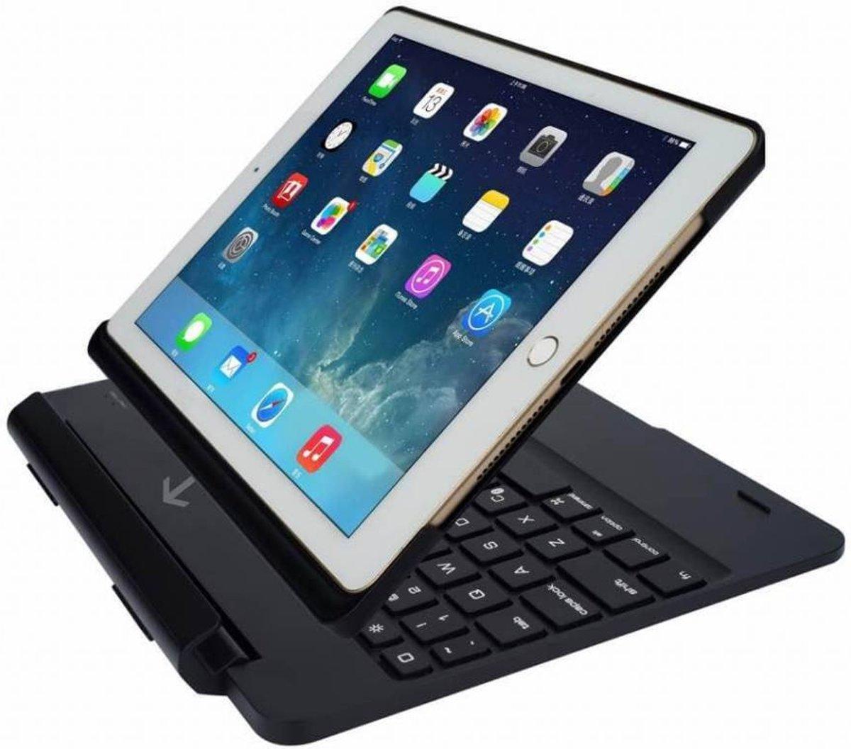 iPad 2017 toetsenbord met afneembare case zwart kopen