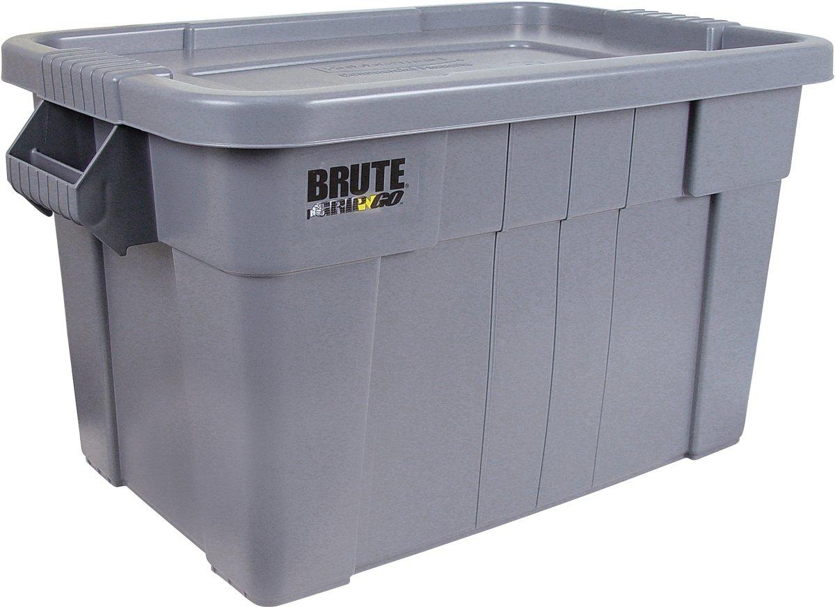 Rubbermaid Brute Opbergbox - 75,5 l - Grijs