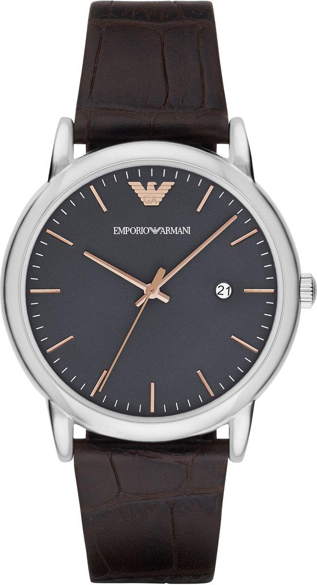Emporio Armani Zilverkleurig Mannen Horloge AR1996