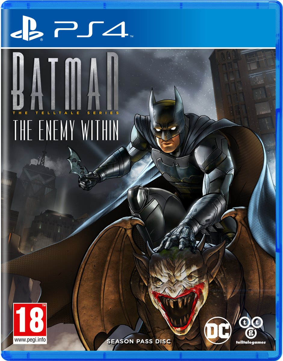 Batman: The Telltale Series 2 - Enemy Within PlayStation 4