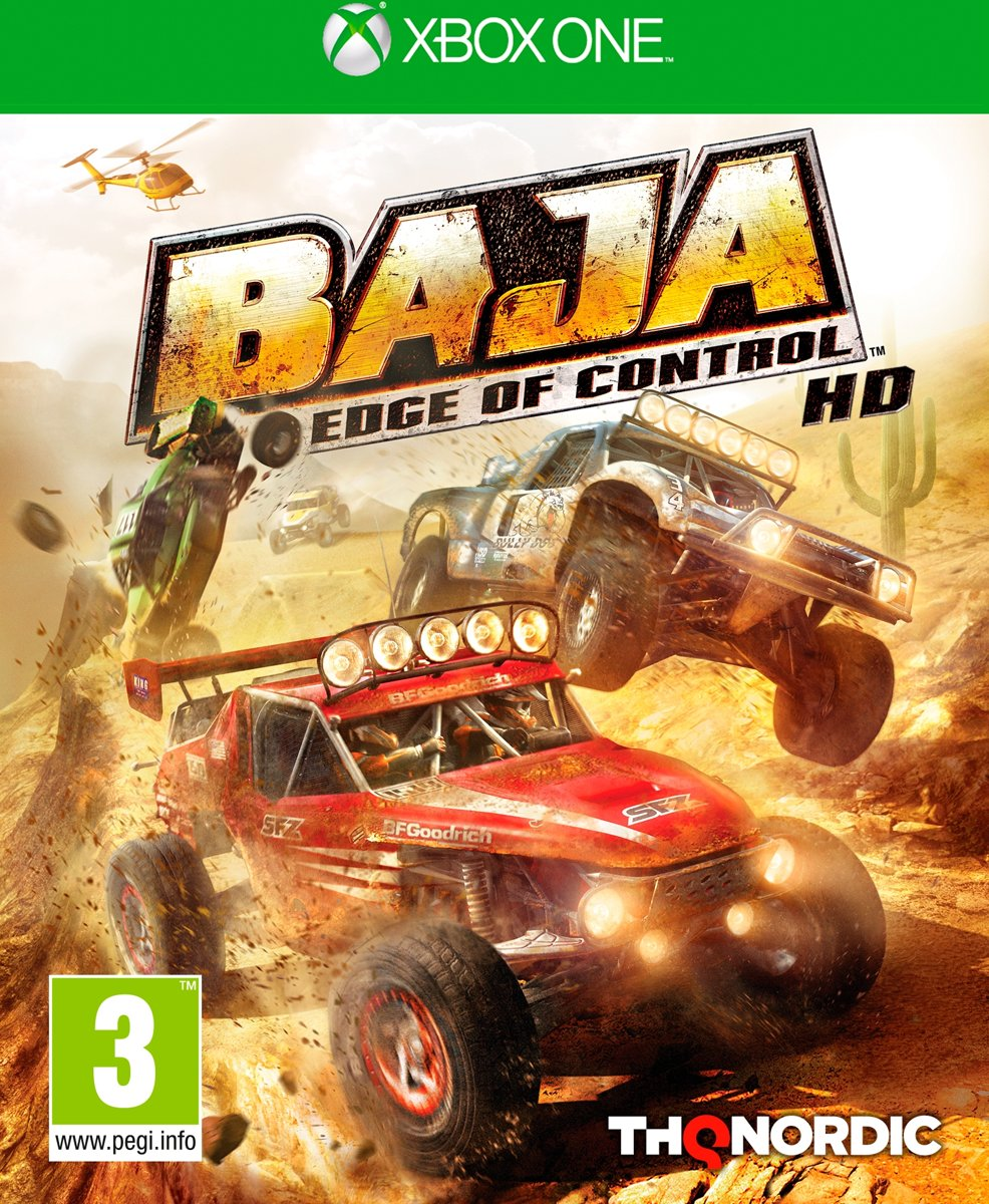 BAJA, Edge of Control HD Xbox One