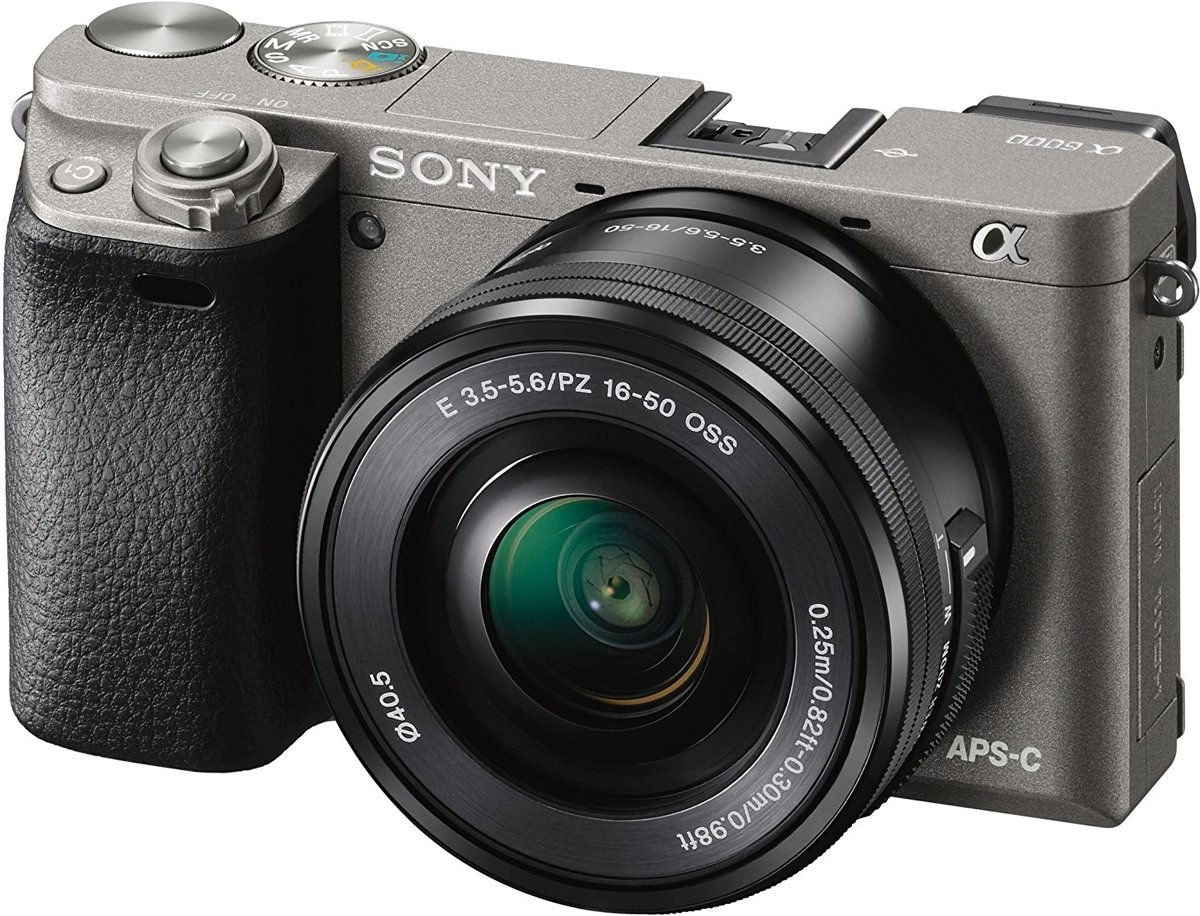 Sony A6000 + 16-50mm - Grafietgrijs