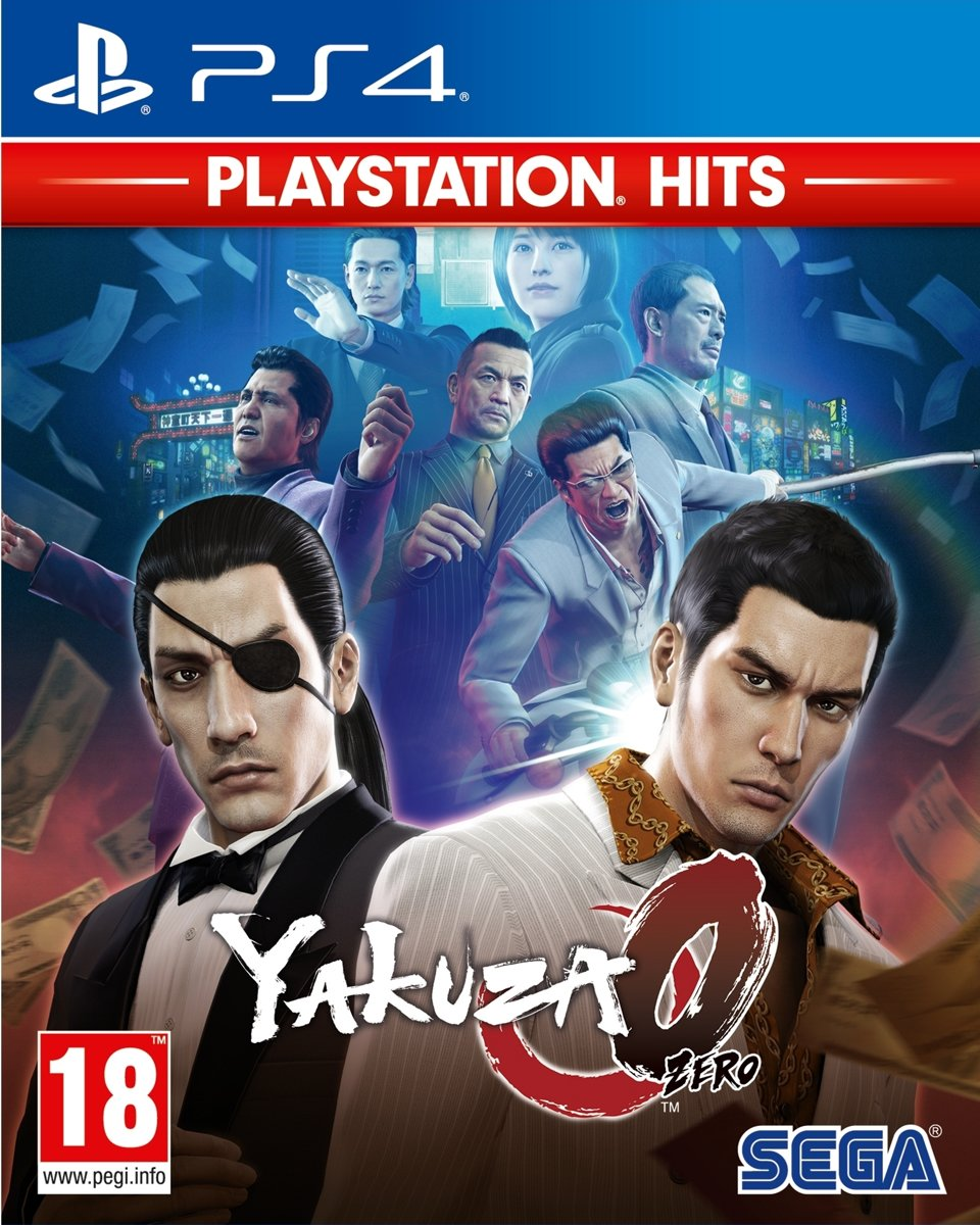Yakuza Zero - PlayStation Hits PlayStation 4