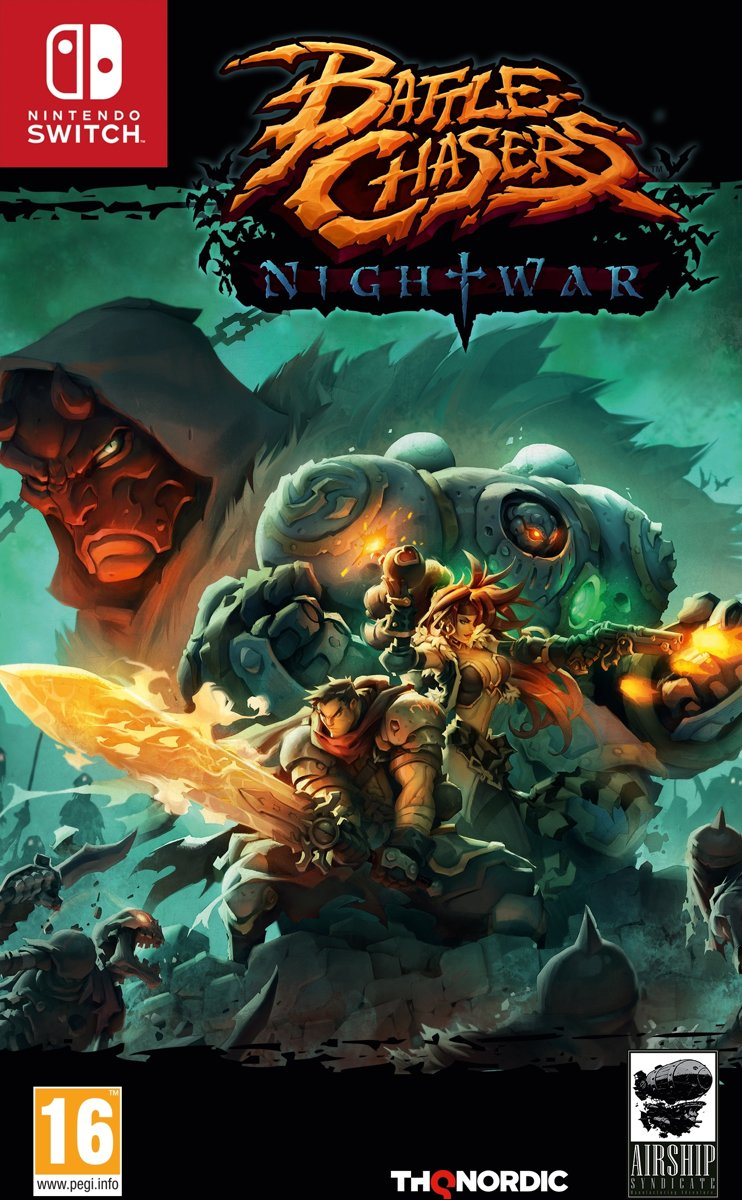 Battle Chasers - Nightwar Switch