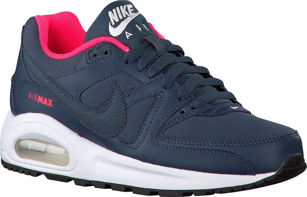 45c23dd6404 bol.com   Nike Jongens Sneakers Air Max Command (kids) - Blauw - Maat 38