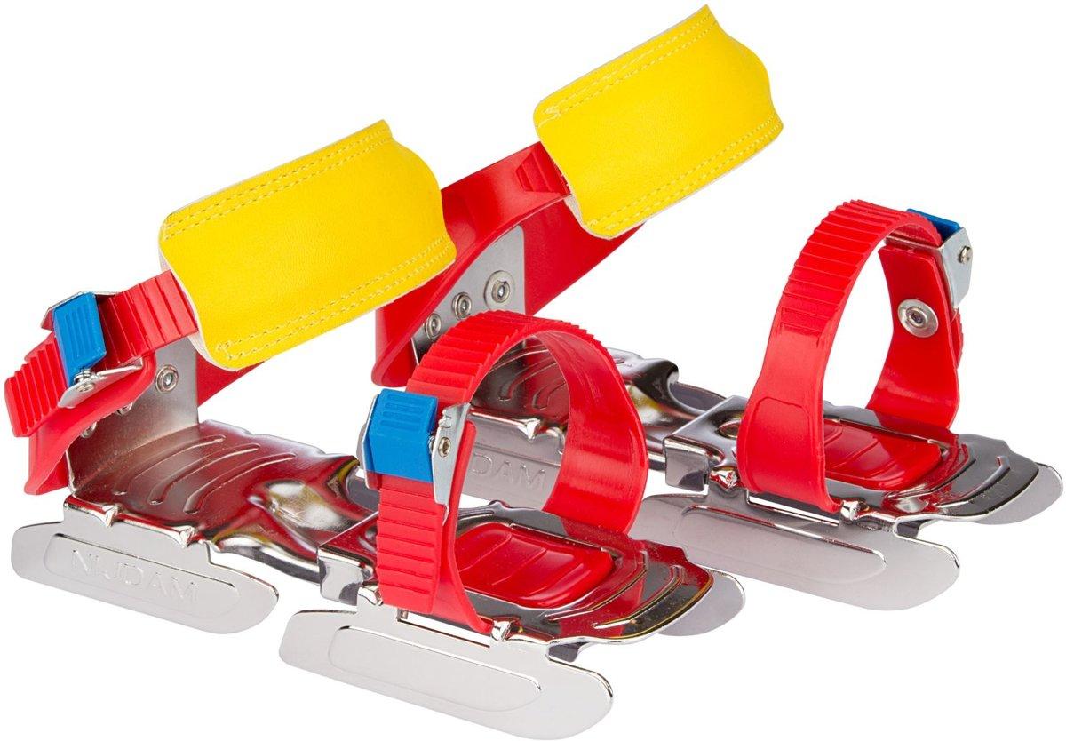 Nijdam Schaatsen - Maat One size - Unisex - rood/blauw/geel