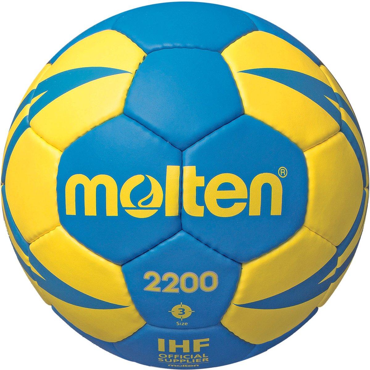 Molten Handbal - blauw/geel maat 3 kopen