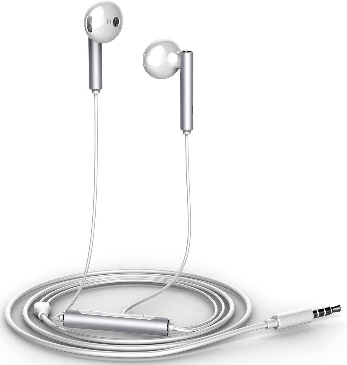 Huawei stereo headset - 3.5mm semi-in-ear - wit kopen