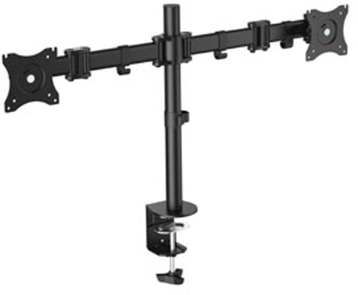 Equip 650115 flat panel bureau steun 68,6 cm (27'') Klem Zwart kopen