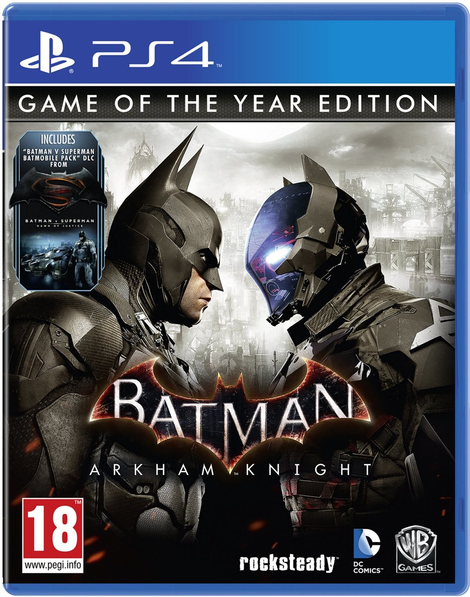 Batman: Arkham Knight Game of the Year Edition PlayStation 4