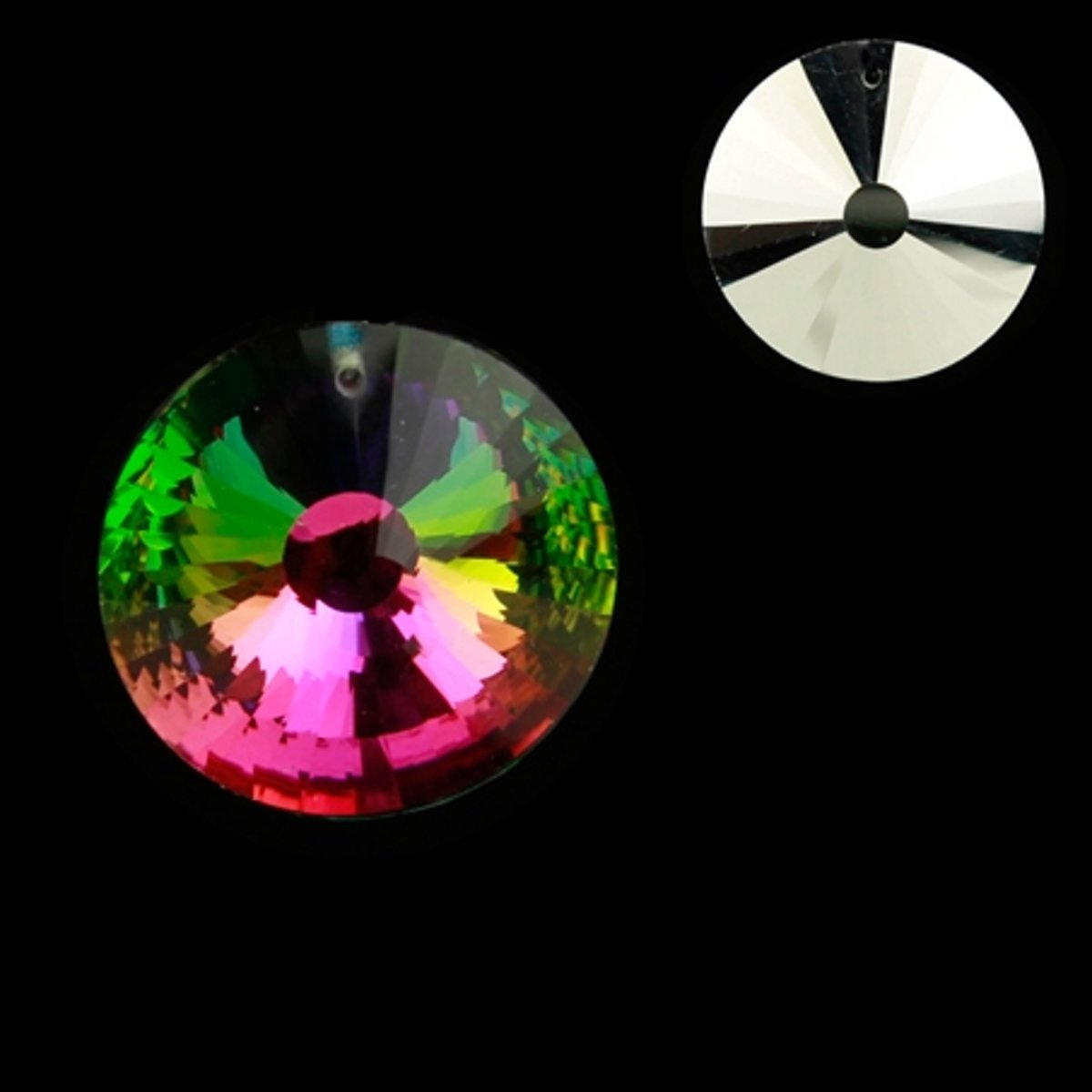 Regenboogkristal cirkel multicolor AAA kwaliteit kopen