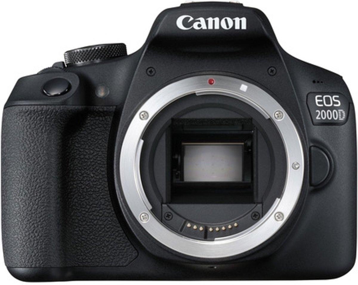 Canon EOS 2000D Body + 18-135mm - Zwart