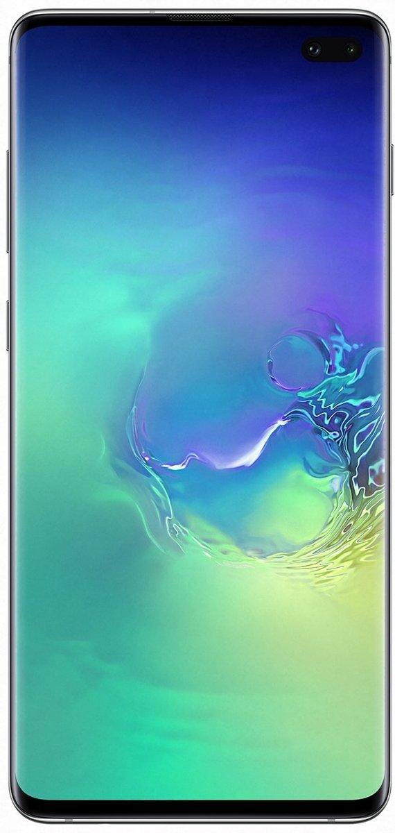 Samsung Galaxy S10+ SM-G975F 16,3 cm (6.4'') 8 GB 128 GB Hybride Dual SIM 4G Groen 4100 mAh kopen