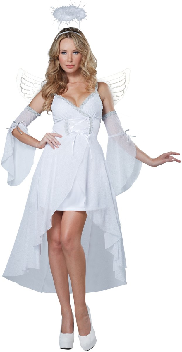 8b881e6e6c5fe6 Hemelse Engel kostuum voor vrouwen - Verkleedkleding - Large