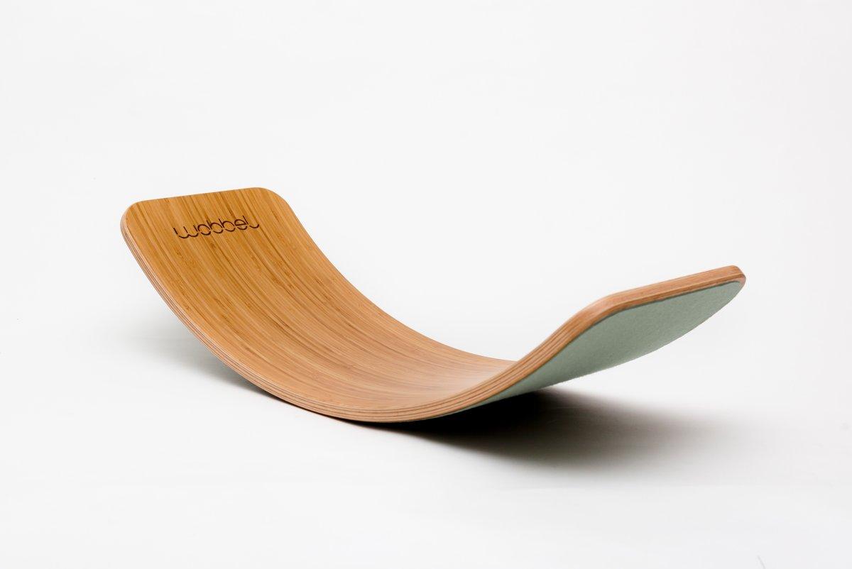 Wobbel Original Bamboe met Vilt - Bos kopen