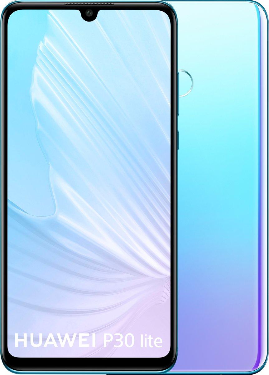 Huawei P30 Lite -  128GB - Breathing Crystal (lichtblauw) kopen