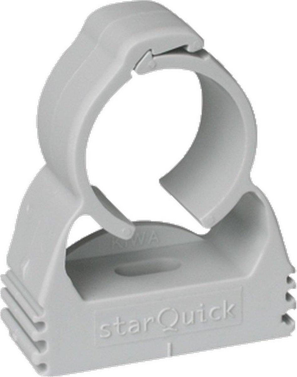 WALR pijpbeugel enkel pijps StarQuick, grijs, pijpbeugel kunstst kopen