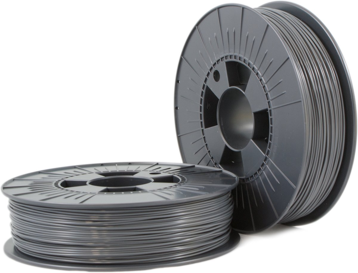 ABS 1,75mm  iron grey ca. RAL 7011 0,75kg - 3D Filament Supplies
