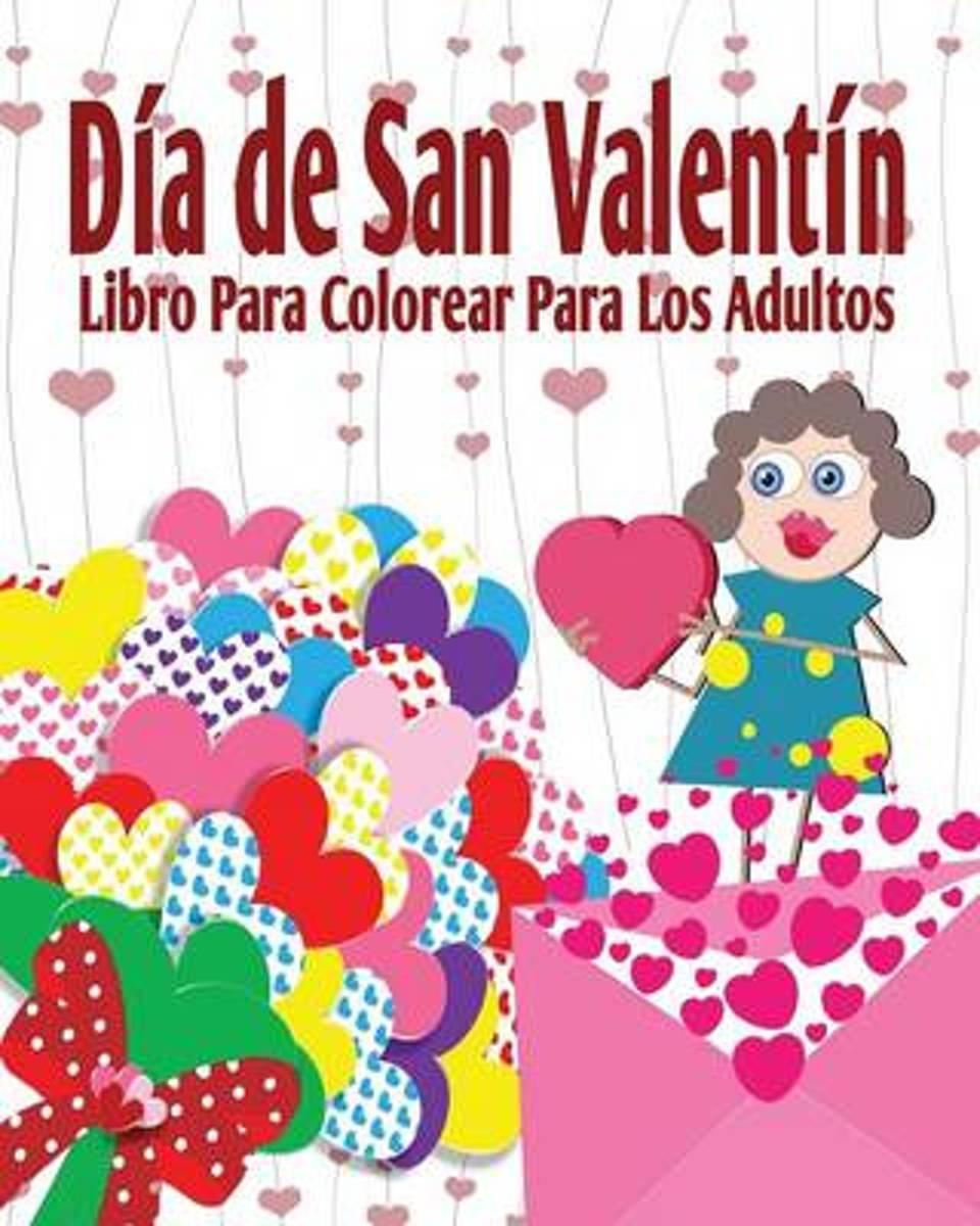 bol.com | Dia de San Valenti Libro Para Colorear Para Los Adultos ...