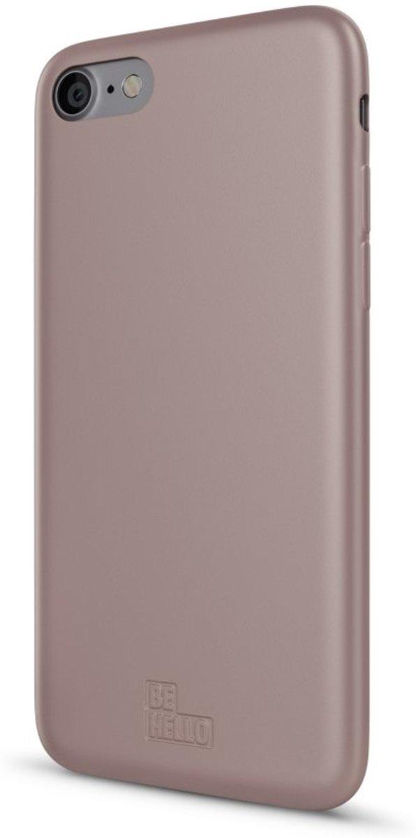 Image of BeHello - iPhone 6s Hoesje - Zachte Back Case Soft Touch Gel Roze goud (8718923350004)