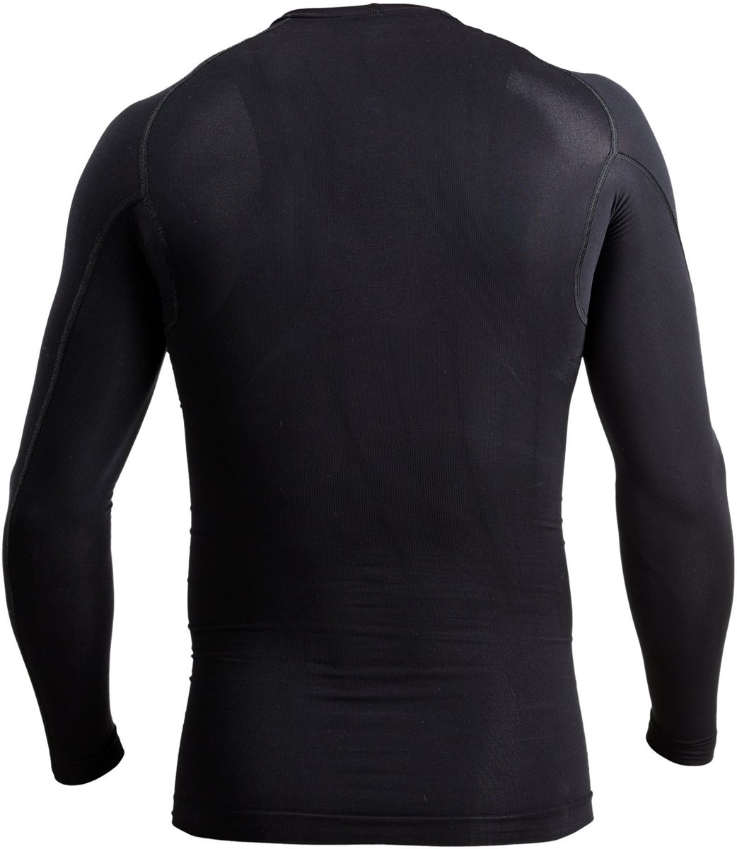 new concept 525a9 8ef7d bol.com  Knapman Thermo Active Compressie Longsleeve Shirt Heren  Sportshirt - Maat M - Mannen.