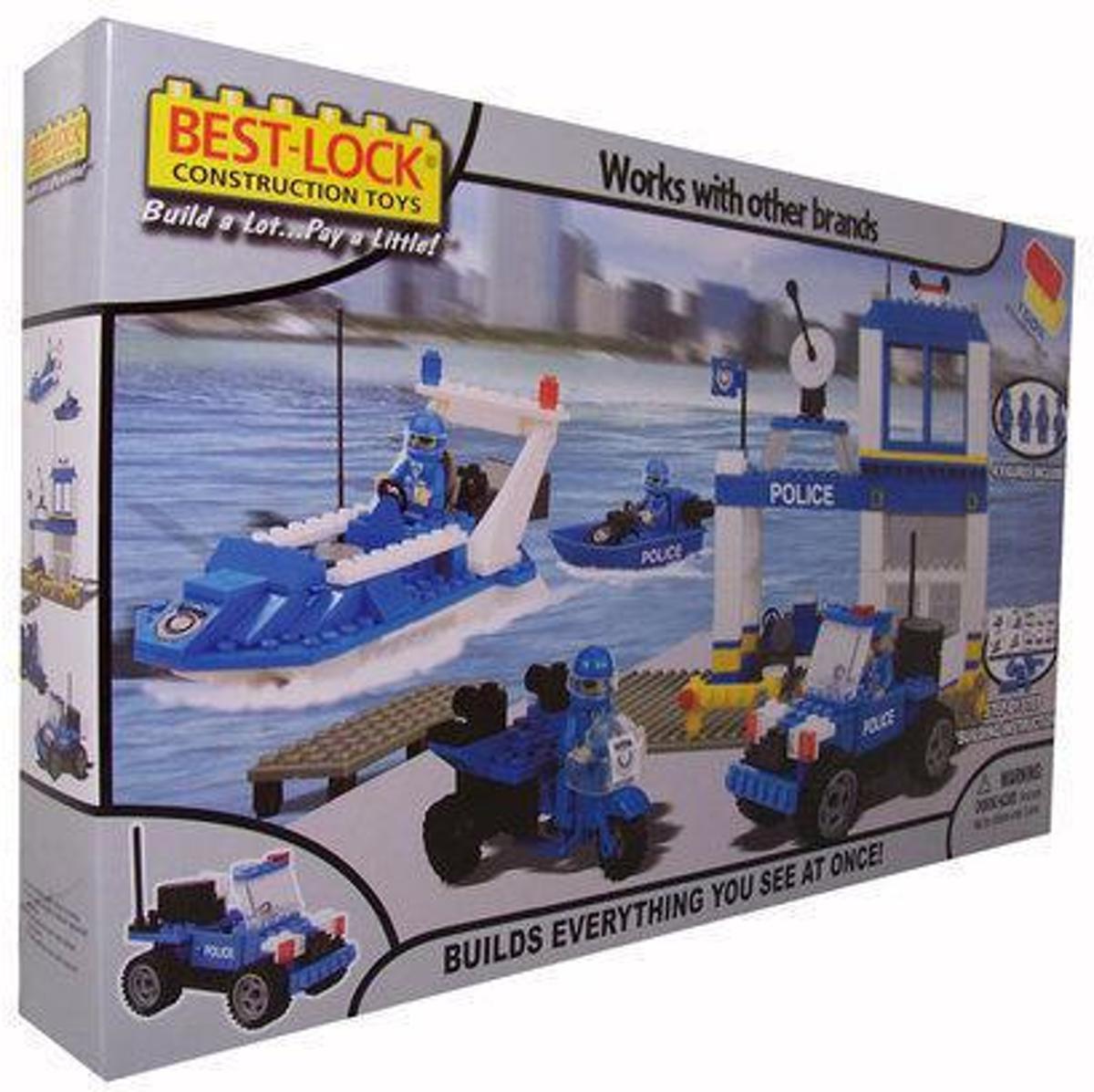 Constructieset Politie (350-dlg)