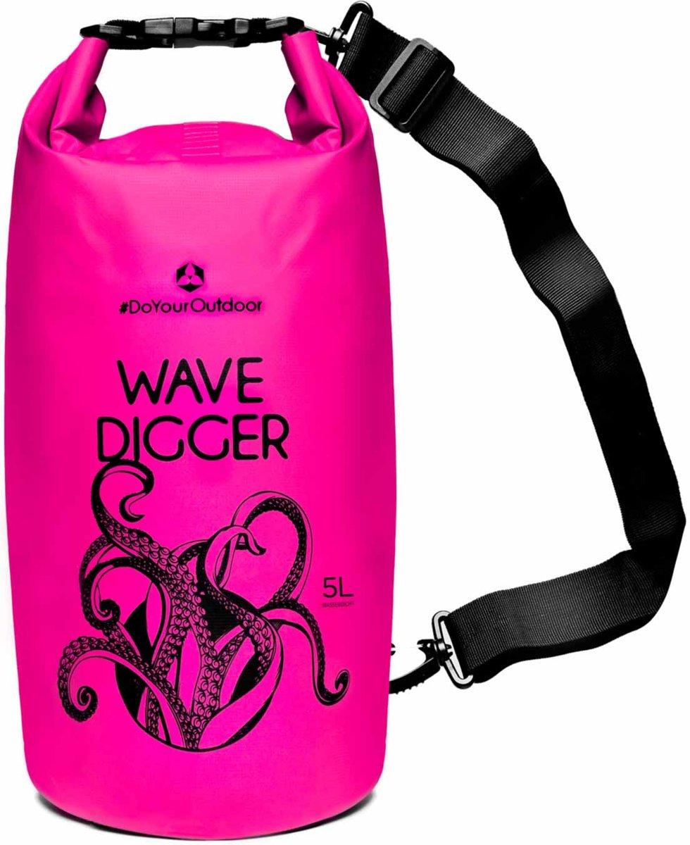 #DoYourOutdoor - Dry bag - »Krake« - waterdichte tas - Maat : 5L - roze kopen