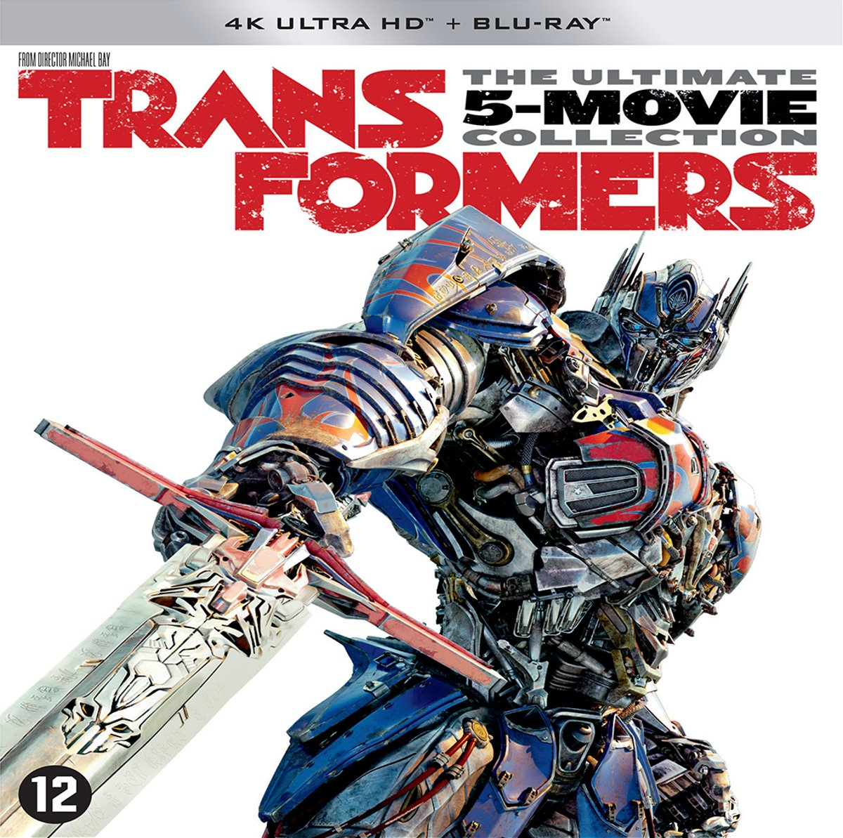 Transformers 1 t/m 5 Boxset (4K Ultra Hd Blu-ray)-