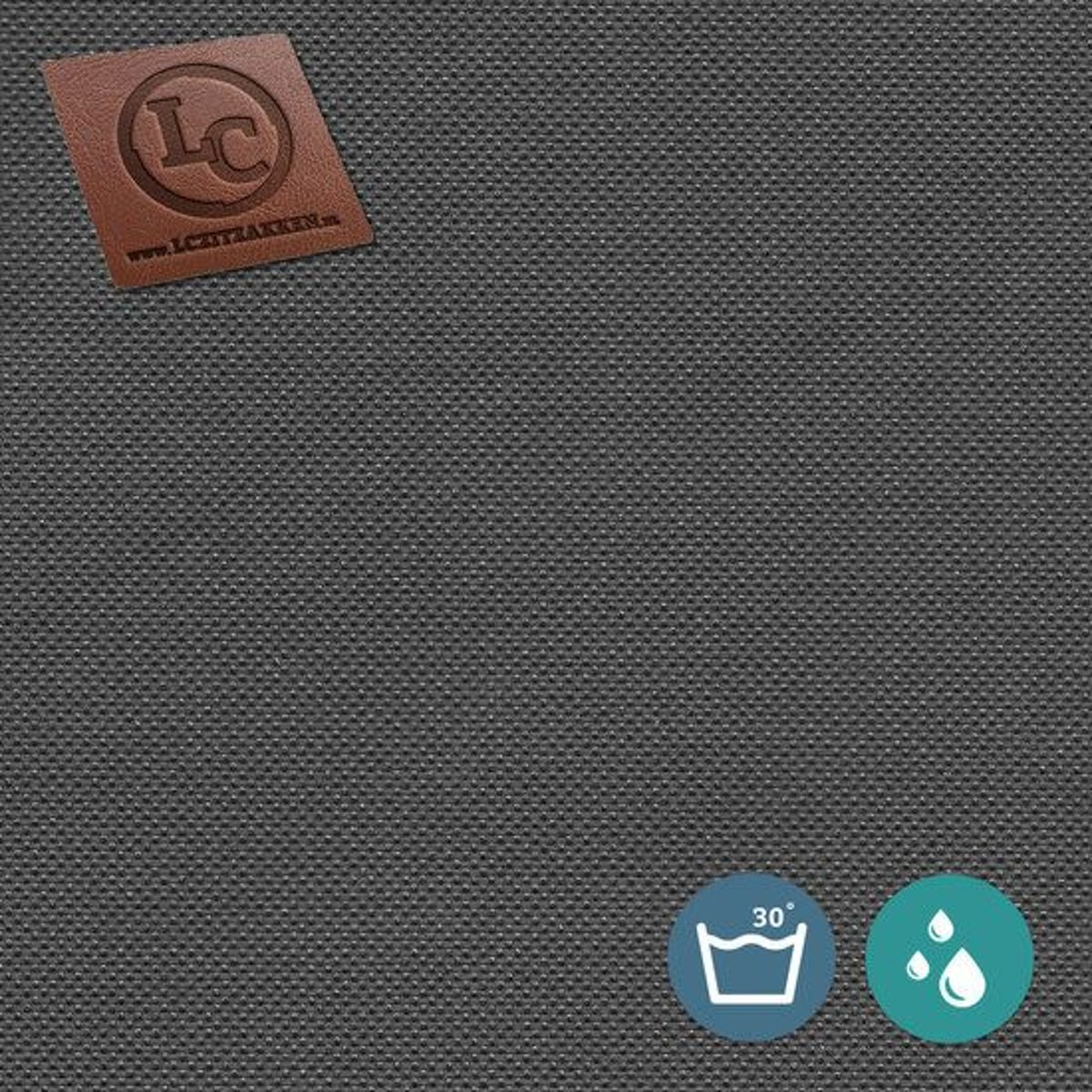 LC Zitzak hoes Ibiza M outdoor antraciet - Wasbaar - Geschikt voor buiten kopen