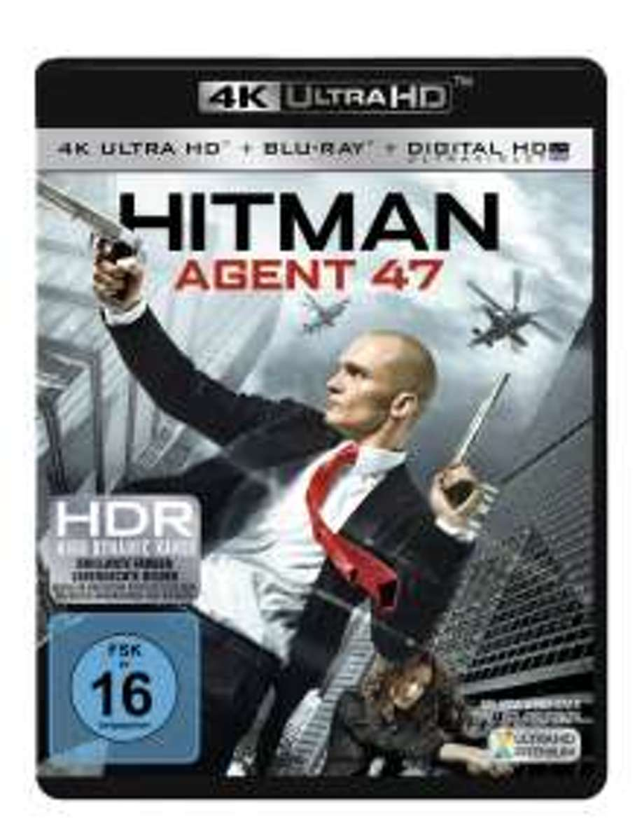 Hitman: Agent 47 (Ultra HD Blu-ray & Blu-ray)-
