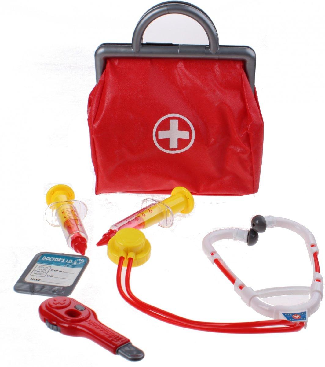 Dokterstas met accessoires 6-delig