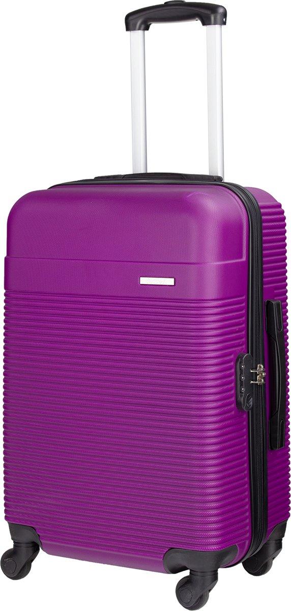 Nowi Gregale S - handbagage - reistrolley - reiskoffer - 54 cm - gevoerde binnenkant - kleur paars kopen