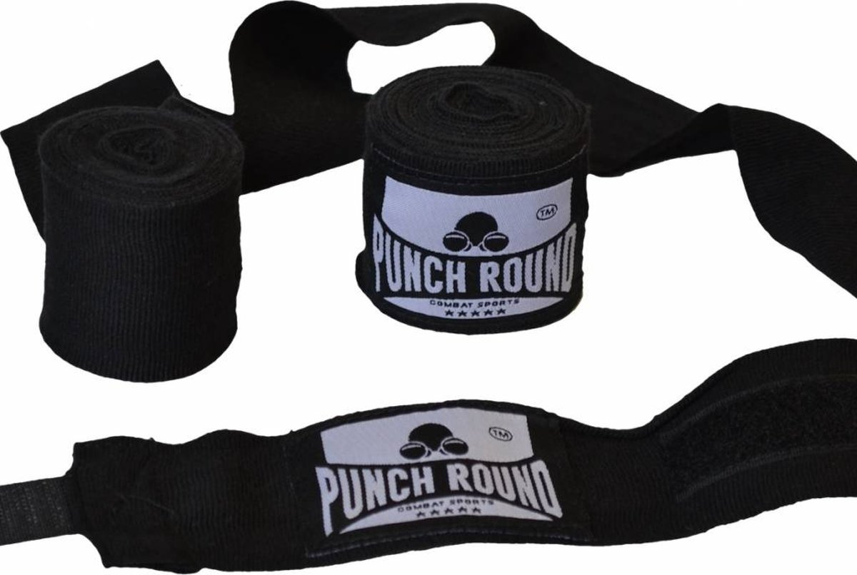 Punch Round™ Perfect Stretch Bandages Zwart 260 cm Punch Round Bandage kopen
