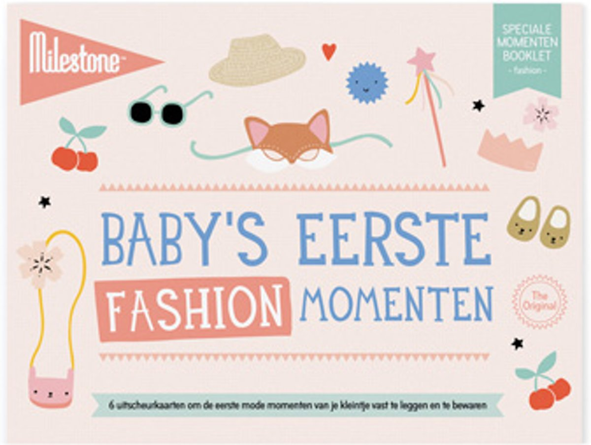 Milestone® Special Moments Booklet - Baby's eerste fashion momenten