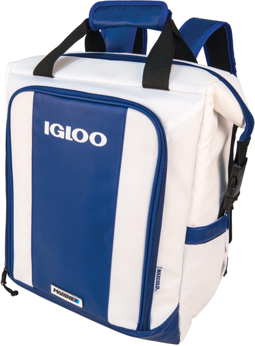 Igloo Marine Switch BackPack - Koelrugzak Koeltas - 19 liter - Blauw/Wit kopen
