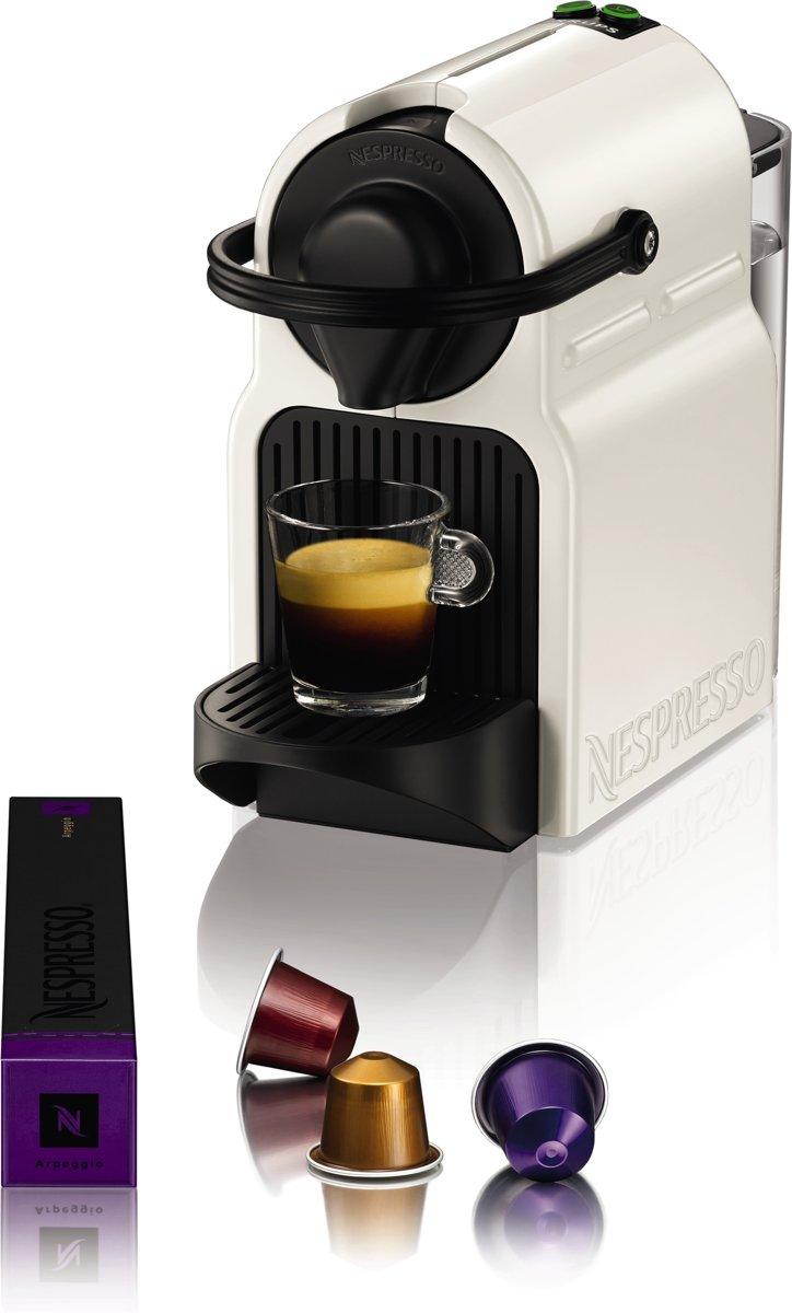 Nespresso Krups Inissia XN1001 - Koffiecupmachine - White voor €39,99