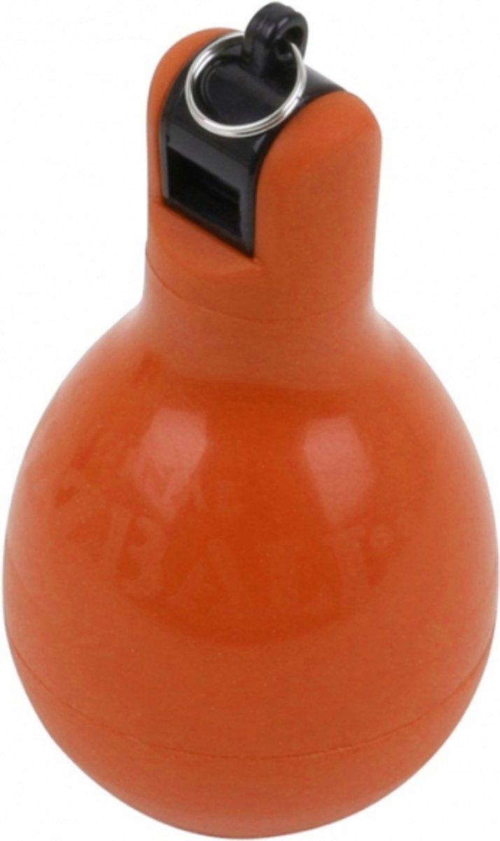 Wizzball - Knijpfluit - Handfluit - Original Wizzball - hygiënische squeezy whistle - Oranje kopen