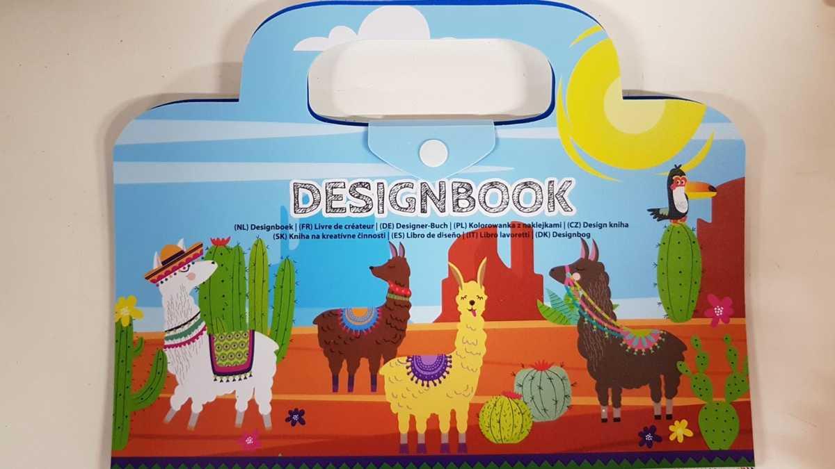 Designboek - Lama's