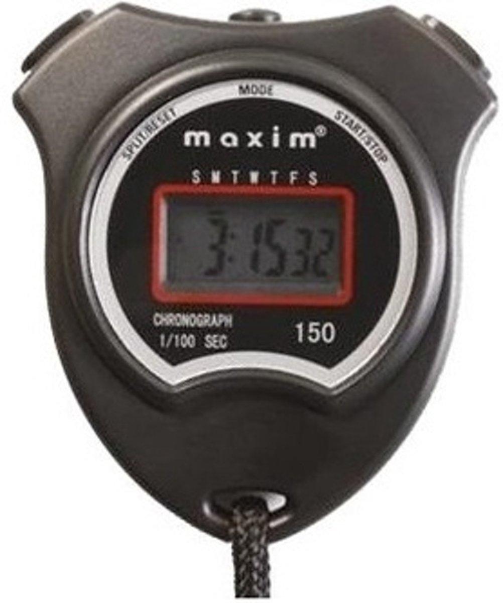 Maxim Stopwatch 150 Zwart 4 Functies/kenmerken kopen