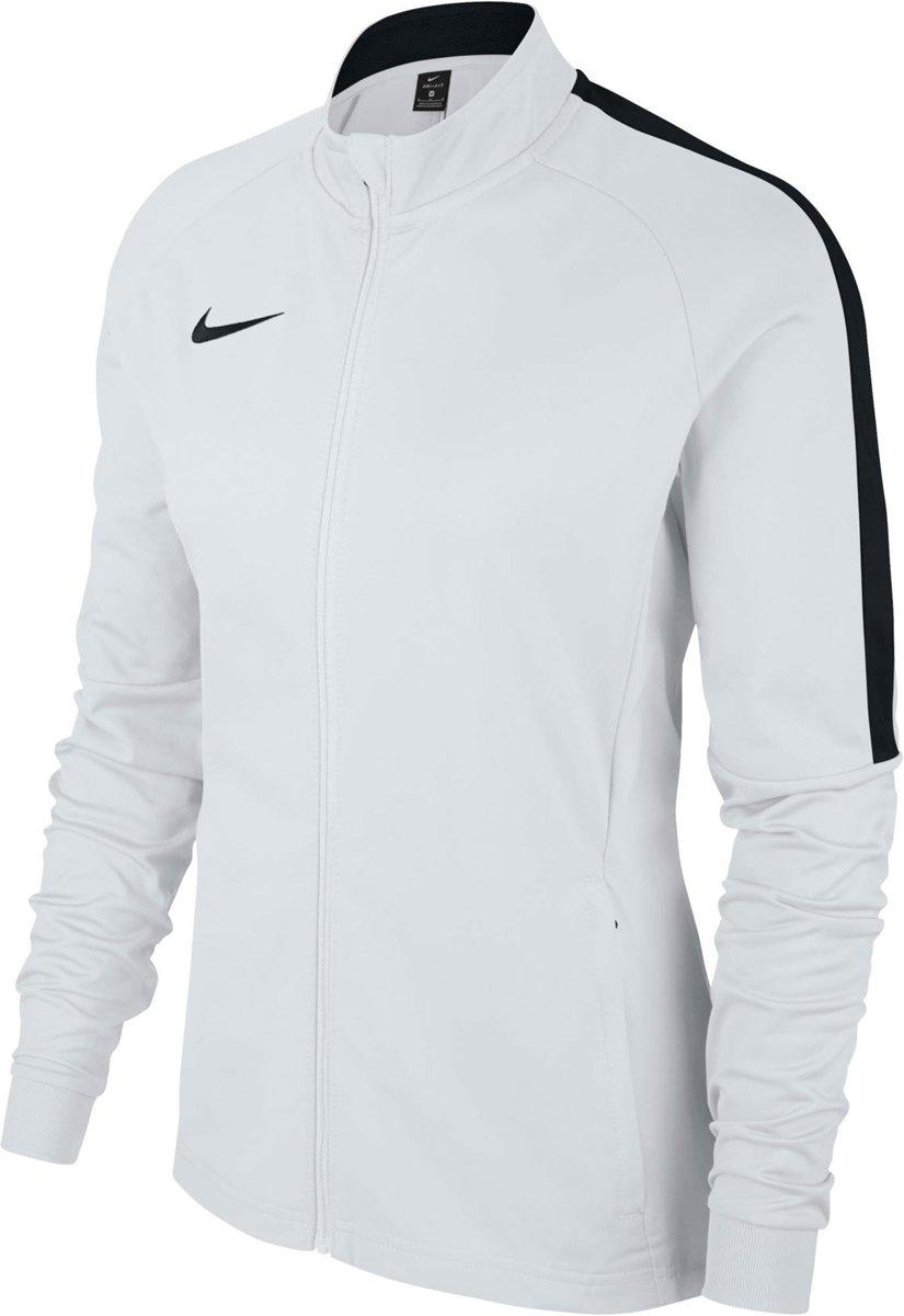 c065f4ce07c bol.com | Nike Dry Academy 18 Trainingsjas Dames Trainingsjas - Maat M -  Vrouwen - wit/zwart