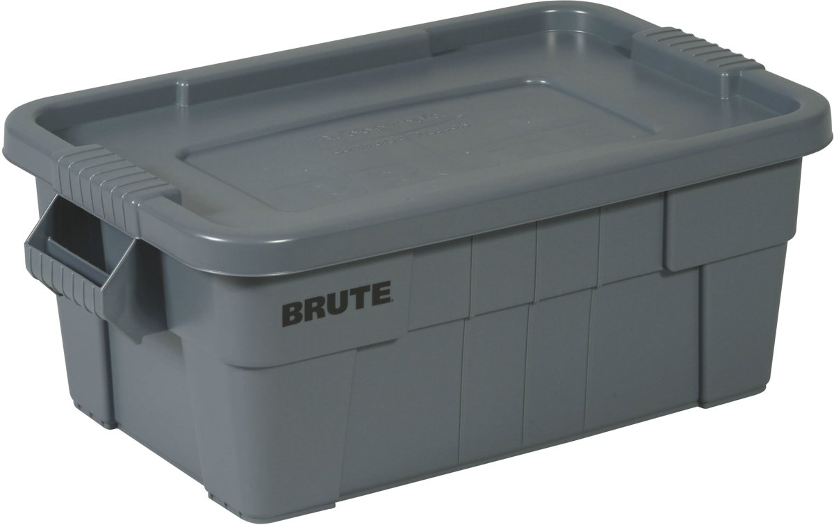 Rubbermaid Brute Opbergbox - 53 l - Grijs