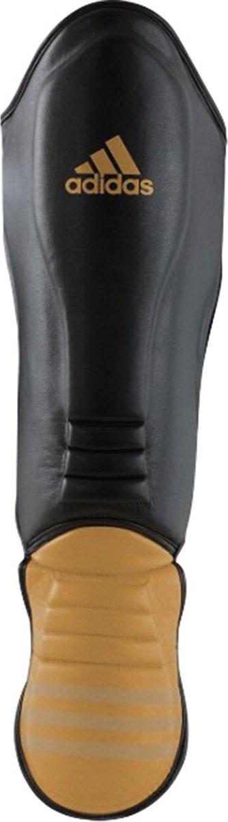 de26c22047b bol.com | adidas Hybrid Super Pro Scheenbeschermer Zwart/Goud Medium