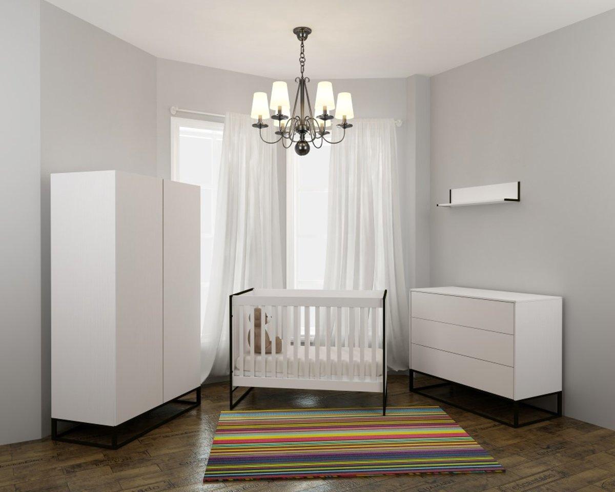 Exclusief Goedkope Babykamer : Bol.com cabino babykamer dayley 3 delige ledikant commode