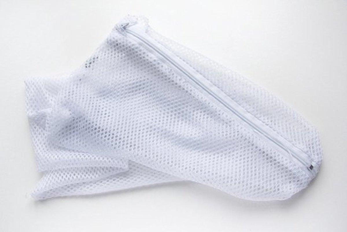 Waszak | Wasnet| 30 x 40 cm | Waszakken |Wasnetje| Waszak met rits | Waszak lingerie | Kwetsbare kleding | Wasmachine kopen