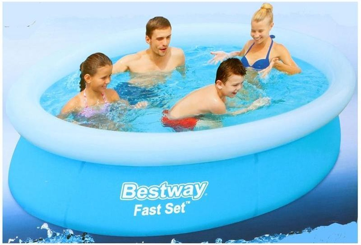 Bestway Zwembad Marin fast rond 198 - 51cm