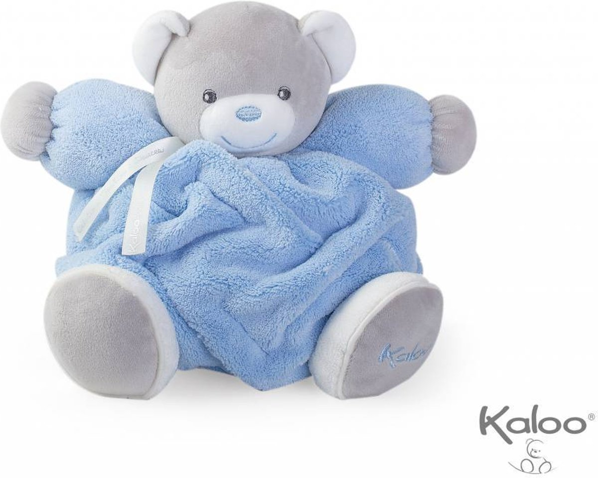 Kaloo Plume - Knuffelbeer blauw