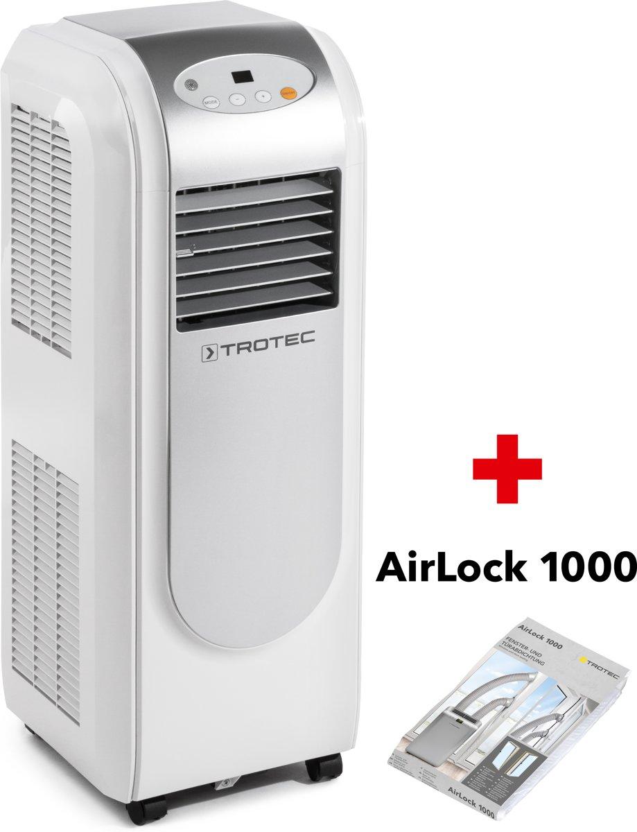 TROTEC Mobiele airco PAC 2000 E - Mobiele airco + AirLock 1000 kopen