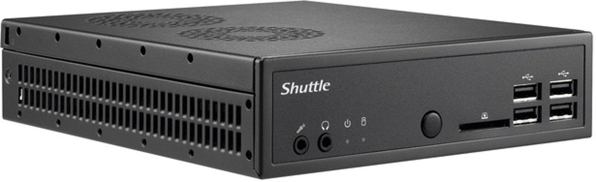 Shuttle DS81 Intel H81 LGA 1150 (Socket H3) Net-top Zwart PC/workstation barebone kopen